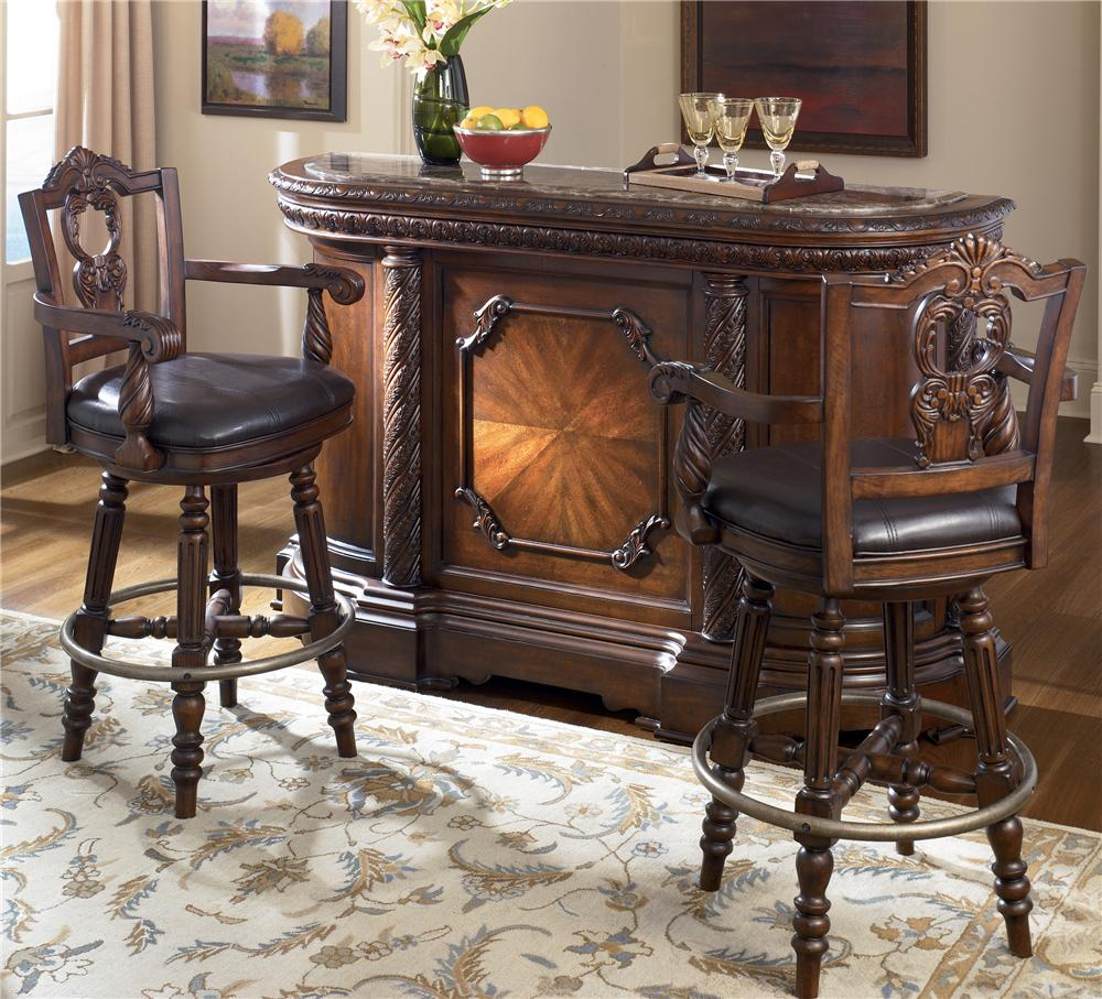 Ashley furniture north shore dining room set